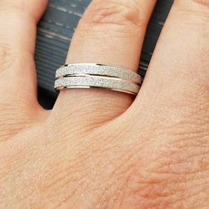Jewelry - Womans stainless steel wedding band, women's ring